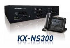 JUAL PABX PANASONIC KX-NS300 Kapasitas 12 Line  48 Extension Analog 18 Ext Digital