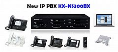 Agen Pabx Panasonic KX-NS300BX Kap. 12 CO Tunk, 24 Extension Digital , 48 Extension Analog